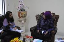 Pertemuan dengan Ibu Bupati Gunung Kidul